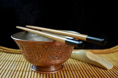 soupe de nouilles au tofu et gingembre