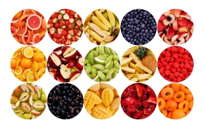 Mille-feuille de fruits