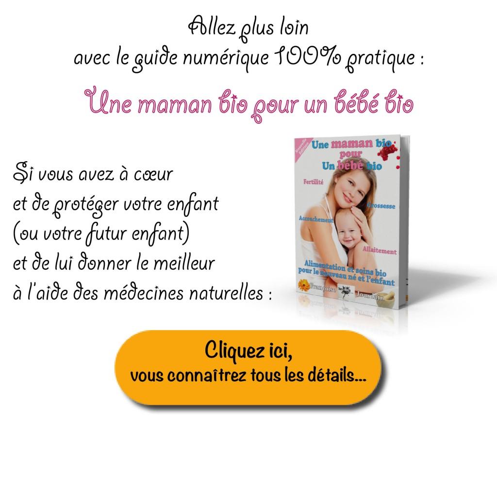soins naturels pour les bébés et les enfants