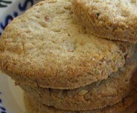 biscuits sablés à la farine de chataigne