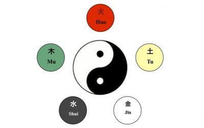 Les cinq éléments dans la médecine chinoise