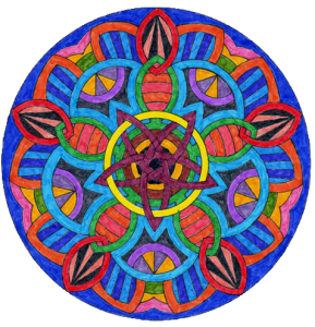 mandala technique de visualisation méditation