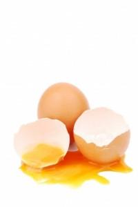 jaune d'oeuf cru cholestérol
