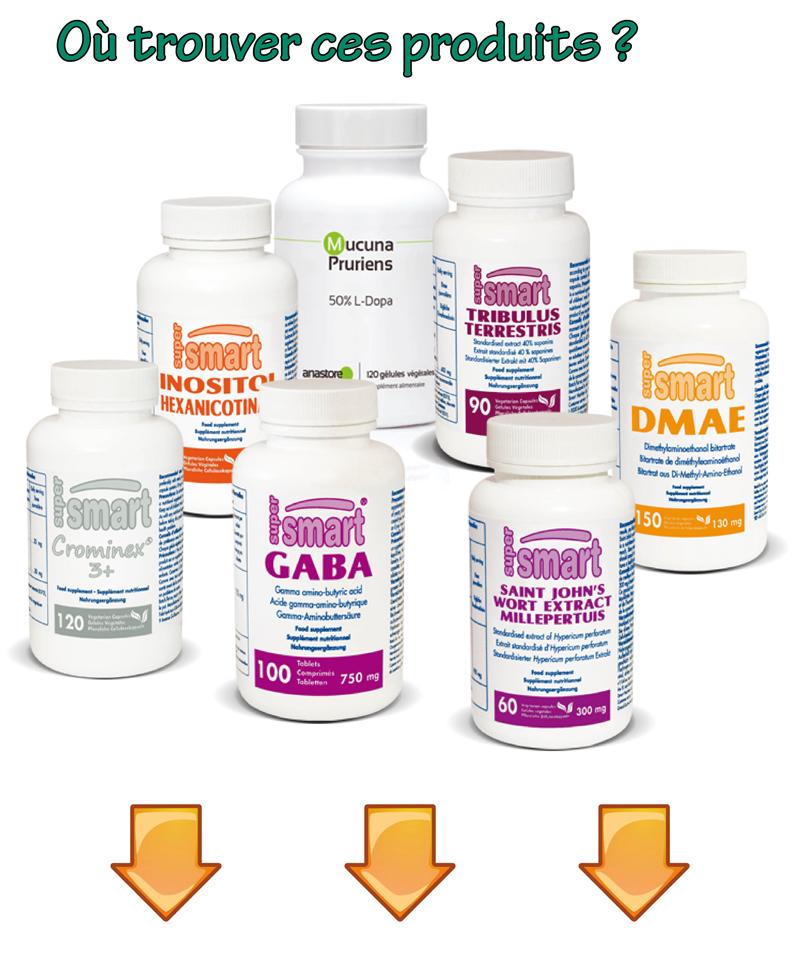 les compléments nutritionnels pour le cerveau