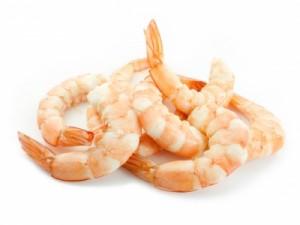 crevettes source de calcium contre l'ostéoporose