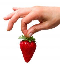 recette masque à la fraise