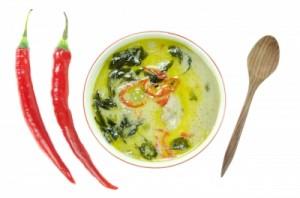 Recette soupe thaï sans sel