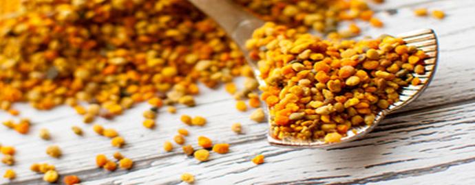 les bienfaits du pollen frais