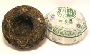 pu erh chinois : le nid d'oiseau