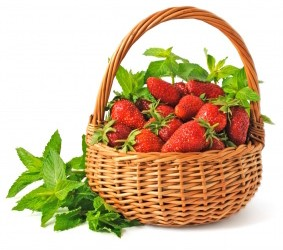 Bio'bulle : La fraise