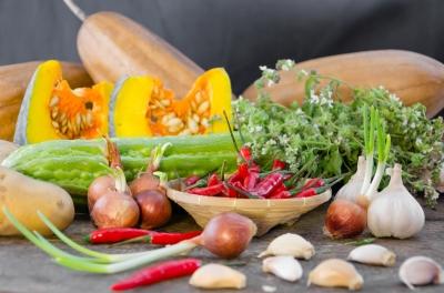 épices, herbes et crudités dans vos recettes d'été