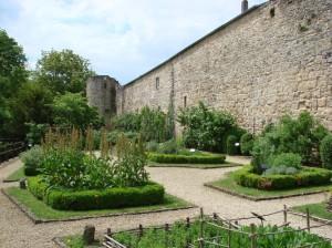 jardin médiéval de Rodemack