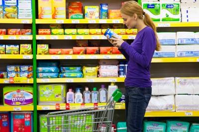 produits alimentaires des magasins de diététique