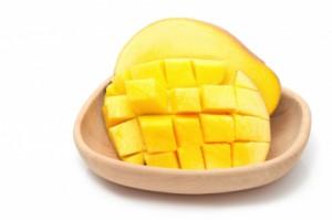 recette dessert mangue et spiruline
