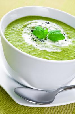 recette soupe spiruline
