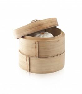 cuisson vapeur paniers bambou