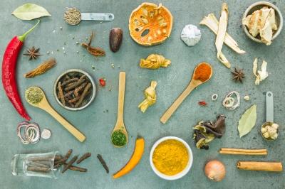 diététique chinoise, nutrition consciente: herbes et épices