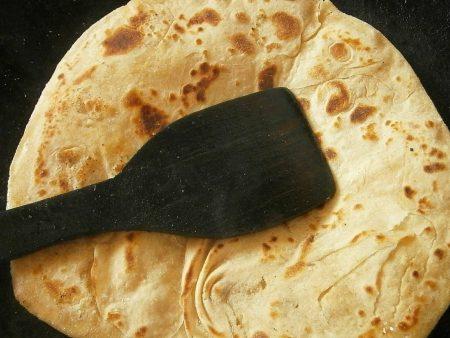recette chapati à la farine complète