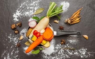 Un repas de fêtes vegan, sans gluten ou sans lactose