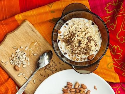 recette porridge au lait végétal