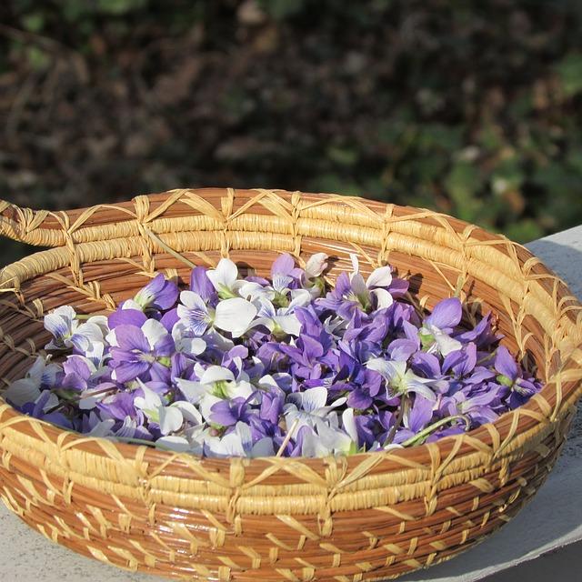 recette de confiture de violettes