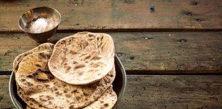 recette chapati pain sans levain