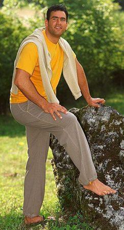 jogging pour homme chanvre coton bio