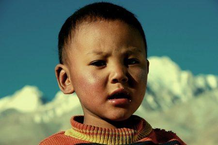 l'enfant dans la culture tibétaine