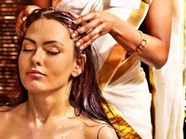massage de la tête ayurvédique