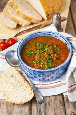 soupe de lentilles israel
