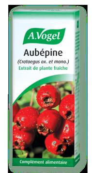 extrait de plante fraiche aubépine anxiété et troubles cardiovasculaires