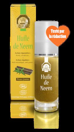 Huile de neem cheveux : pellicules, irritations, poux, lentes, tiques