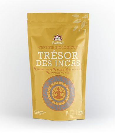 Trésor des Incas : physalis, coco, fraise, amandes activées