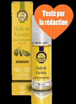 huile de karanja protection solaire bio