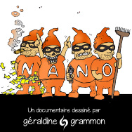 Documentaire dessiné nano Géraldine Grammon