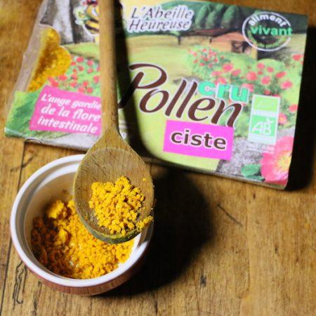 pollen-cru-ciste-reponses-bio