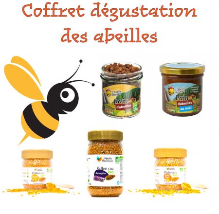 coffret cadeau degustation produits de la ruche