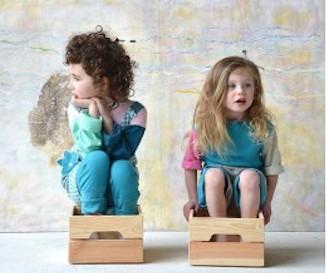vêtements évolutifs et réversibles bio pour enfants