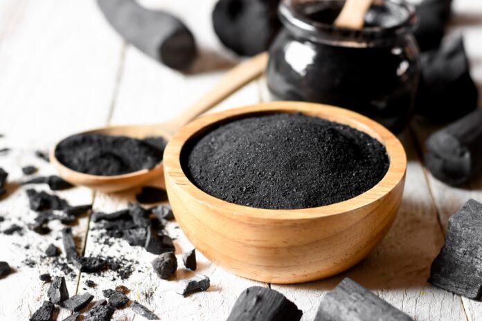 charbon végétal activé de bambou moso