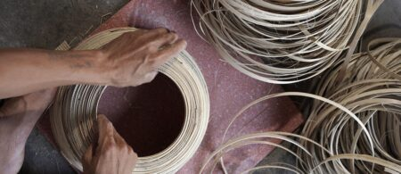 bibol artisanat vietnam bambou naturel